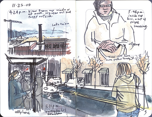 gabi campanario urban sketchers