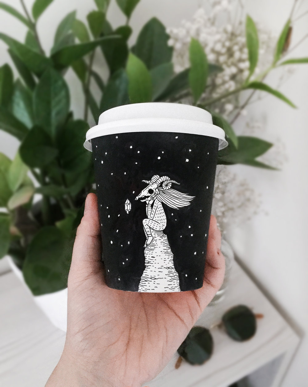 Coffee cup illustration
