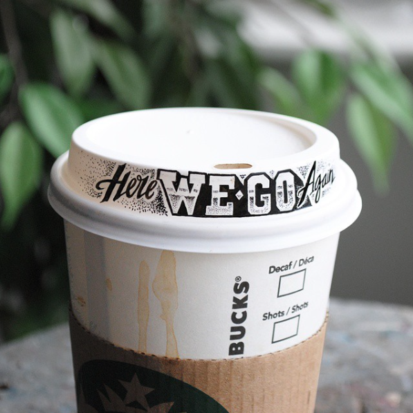 Doodles on Coffee Cups