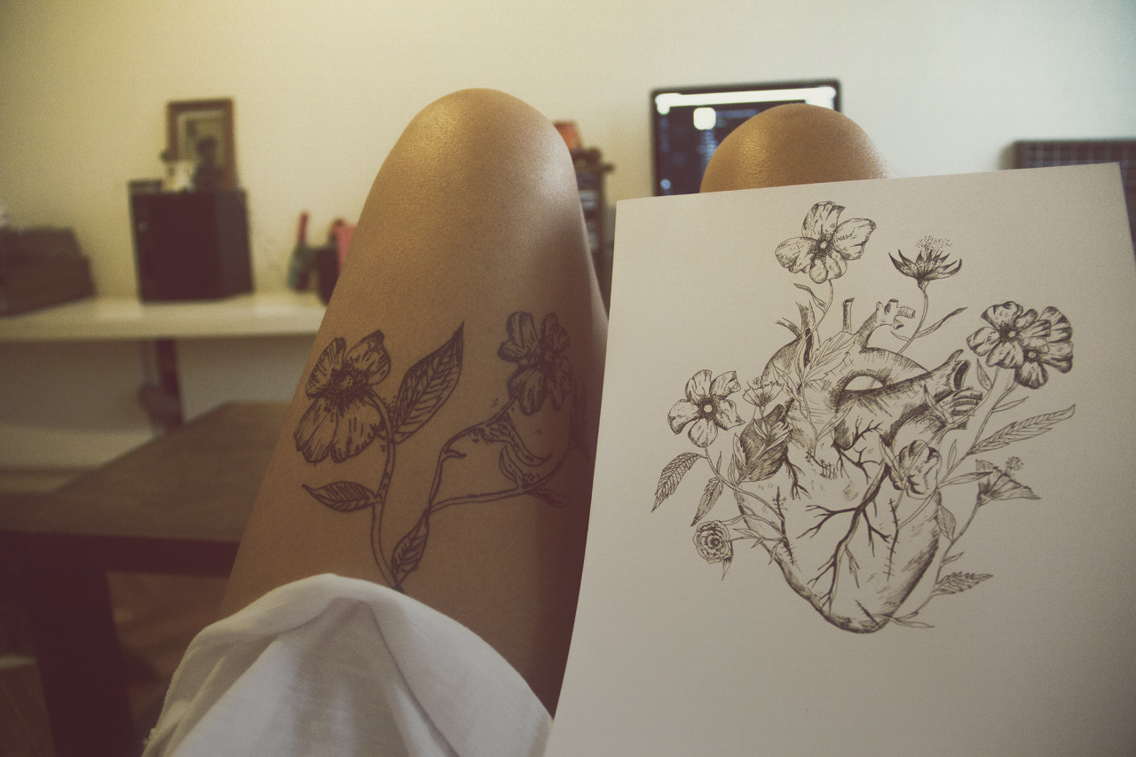 sketchbook photography tattoo