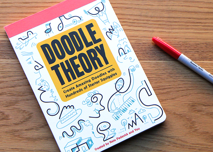 doodling book, how to doodle, doodle challenge