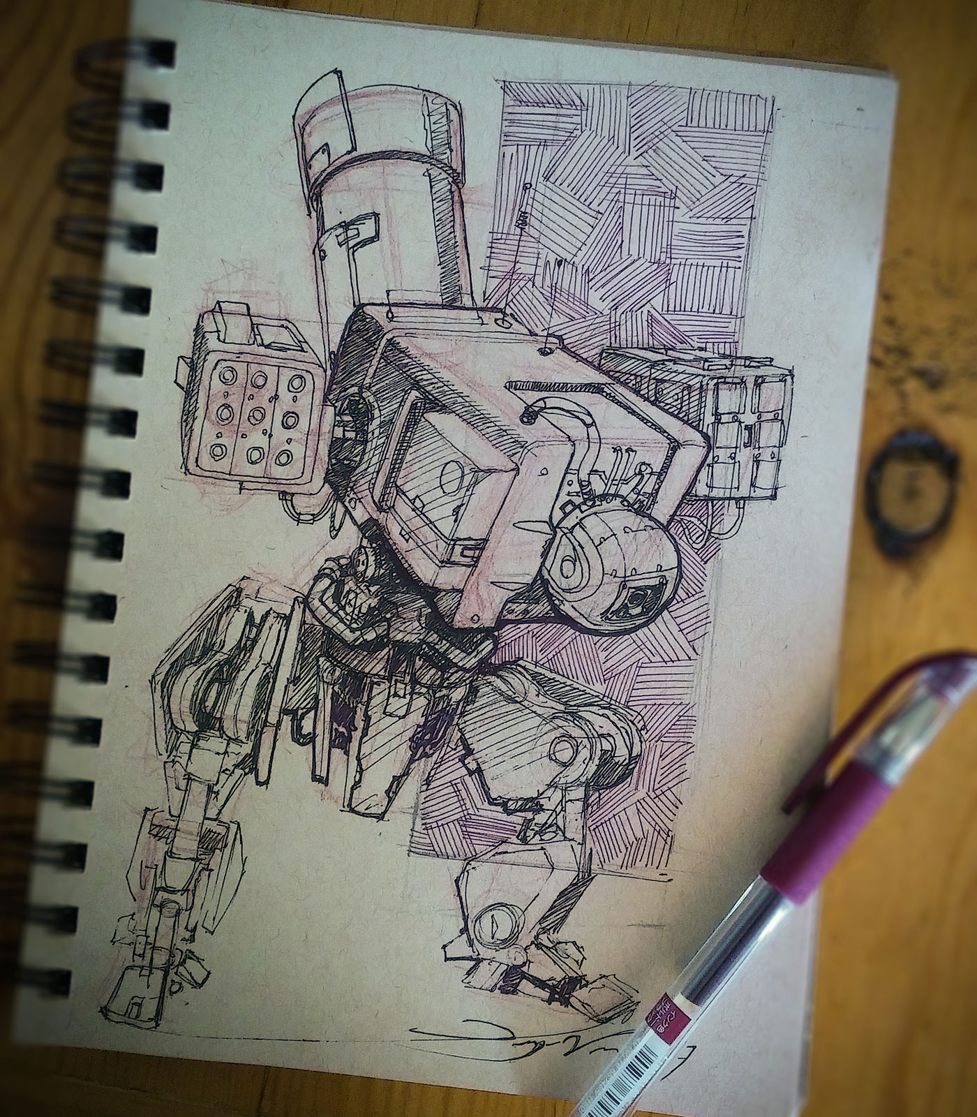 Sketch of mech
