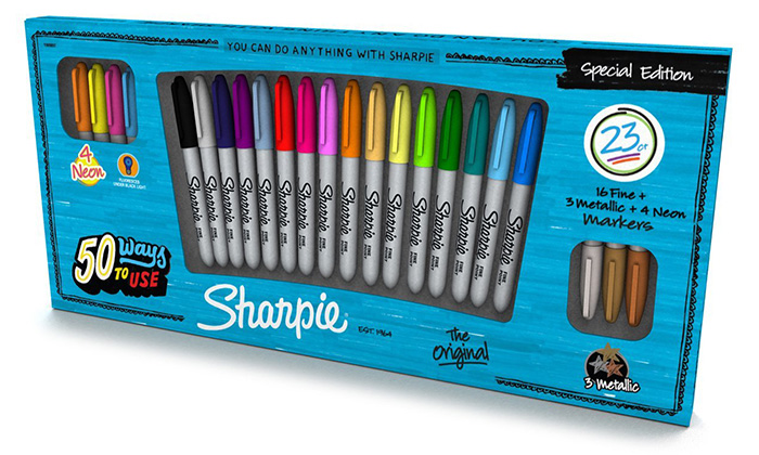 sharpie collection, sharpie limited edition, rare sharpies
