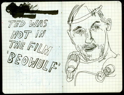 ted mcgrath drawn interview