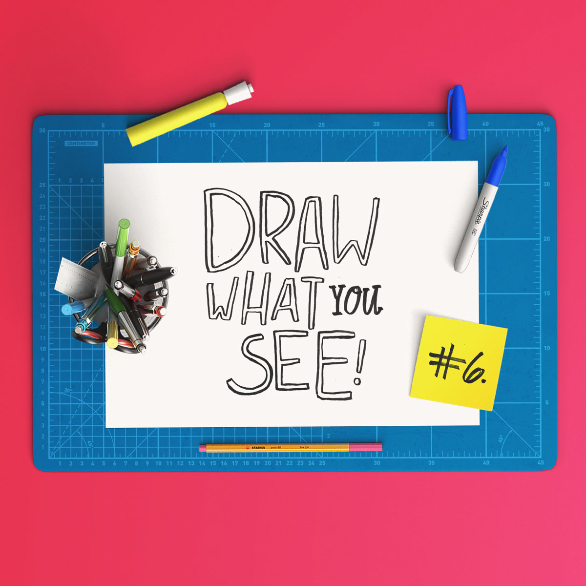 observational drawing, draw what you see