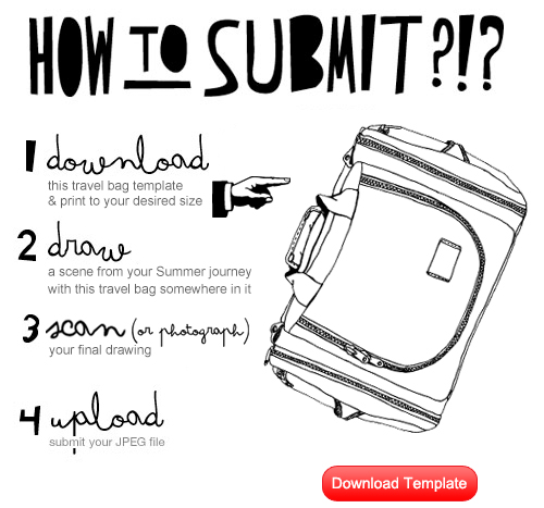 Tom Bihn Drawing Challenge Instructions