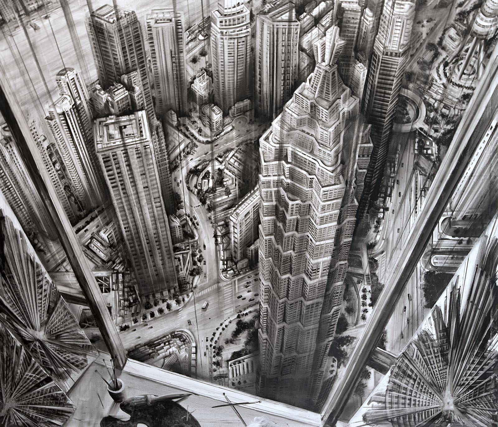 Drawing from a Skyscrapper