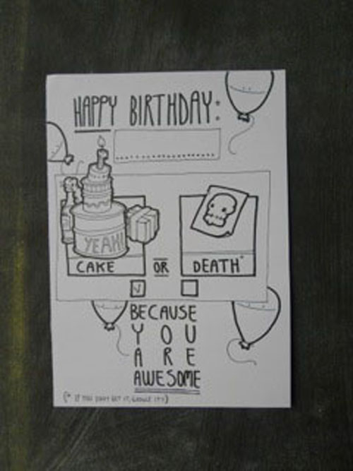 Over 40 HandDrawn Birthday Cards – Cool Designs for Birthday Cards