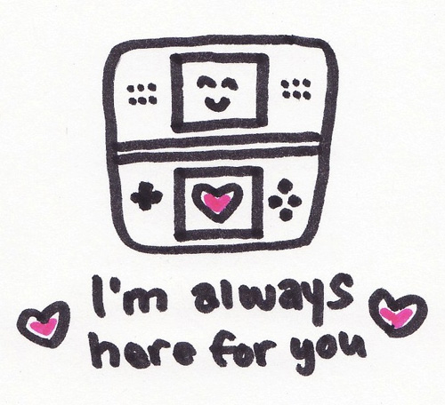 Always Here For You Nintendo DS Doodle
