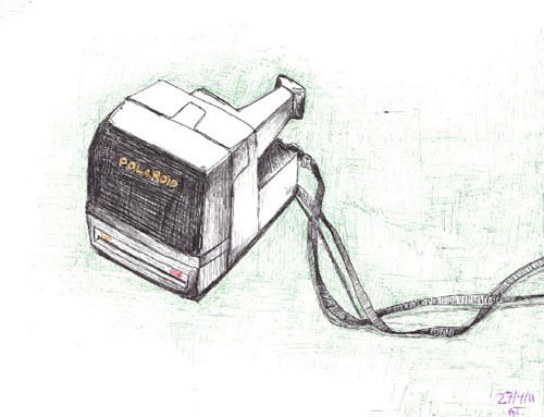 Polaroid Doodle by Angie Taylor