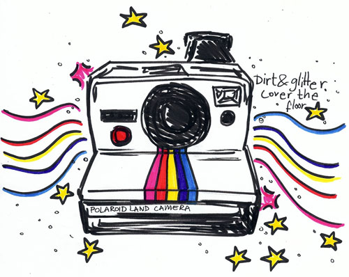 Polaroid Doodle by ShellyLou