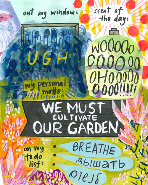 Cultivate Our Garden Doodlers Anonymous