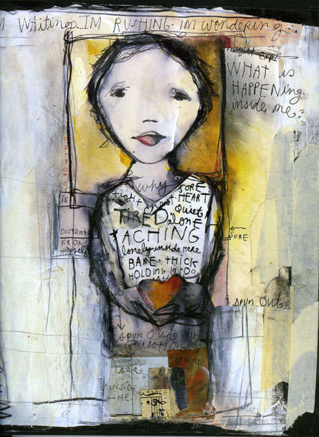 When Inside Comes Out | Doodlers Anonymous Sabrina Ward Harrison Sketchbook