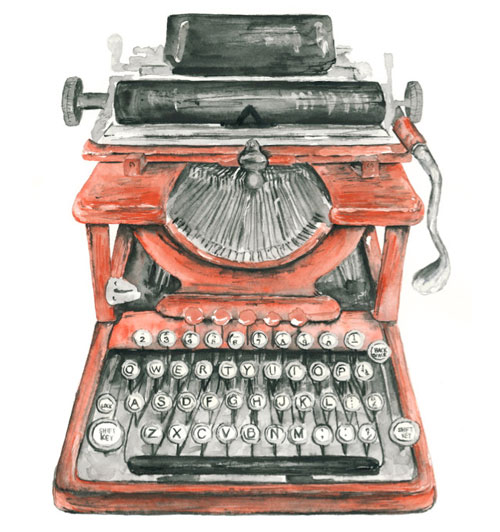 Type & Time: Drawn Typewriters | Doodlers Anonymous
