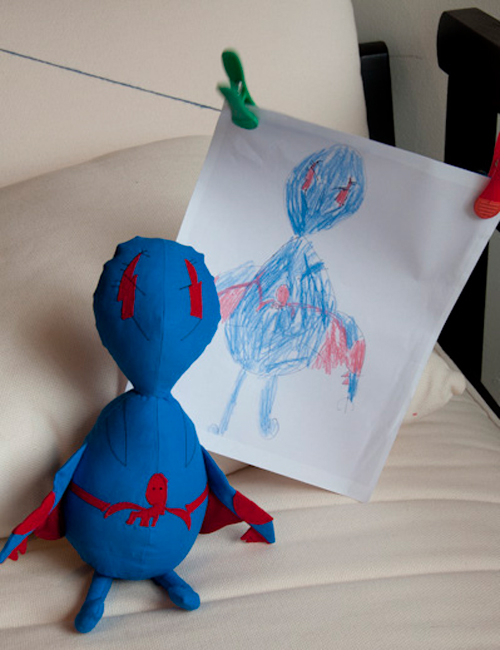 The Living Doodle: Turning Kid Drawings into Plush Toys ...