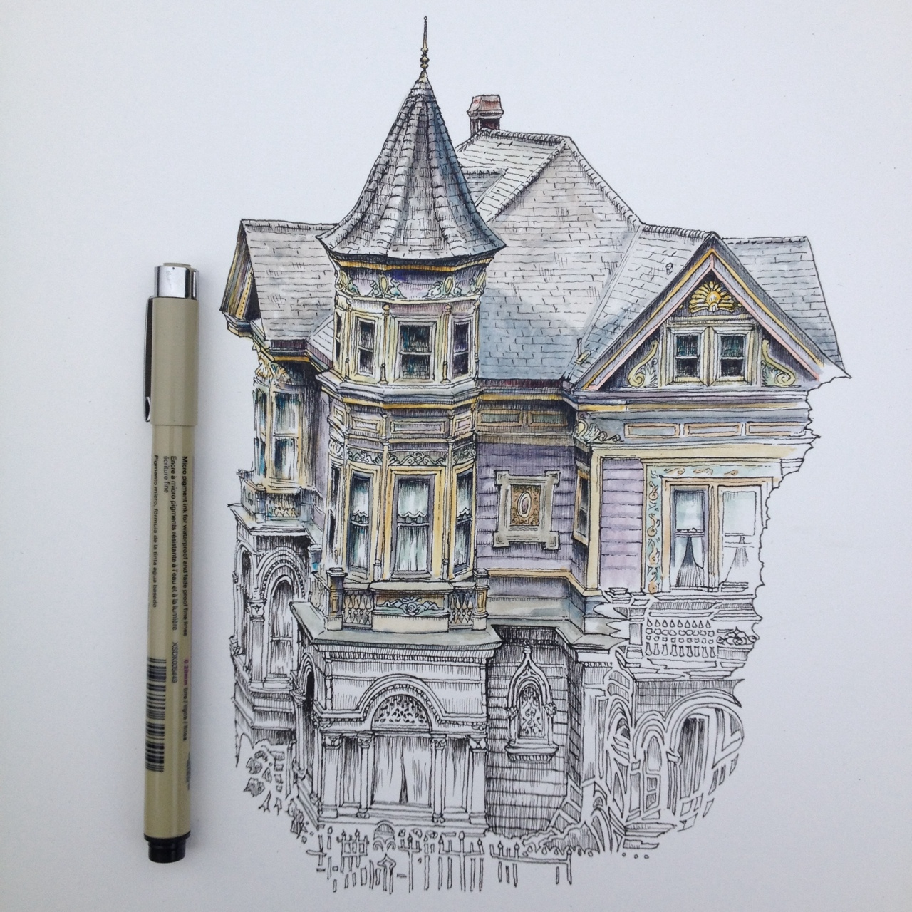 illustrated house