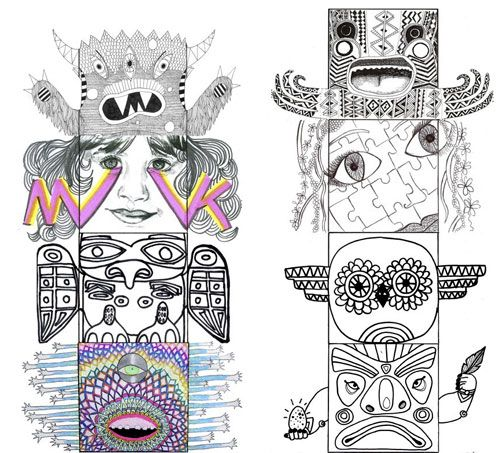 73 Coloring Book Doodlers Anonymous