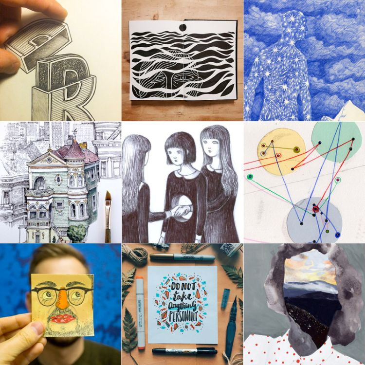 Our 2015 Doodle, Draw and Illustration Year in Review | Doodlers Anonymous