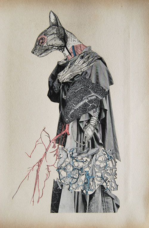 Collages of Strange Anatomy | Doodlers Anonymous