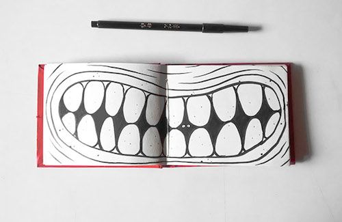 Spending 2.5 Hours In a Sketchbook | Doodlers Anonymous