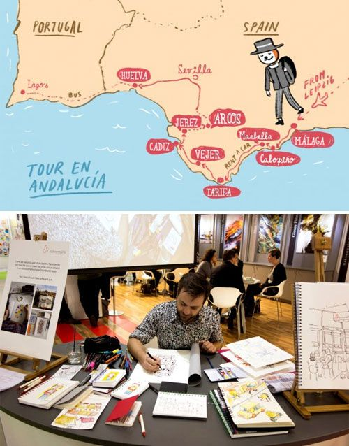 Illustration Around the World | Doodlers Anonymous