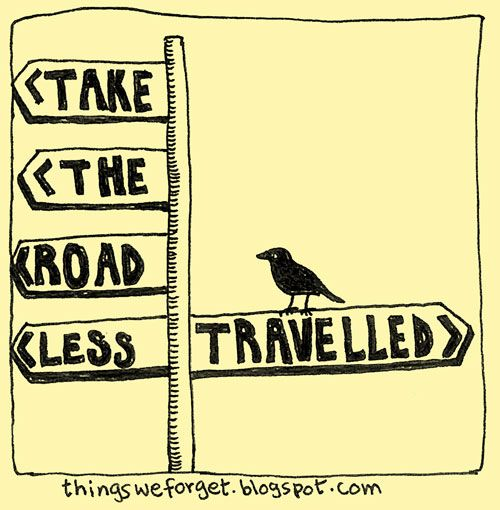 The Road Less Travelled | Doodlers Anonymous