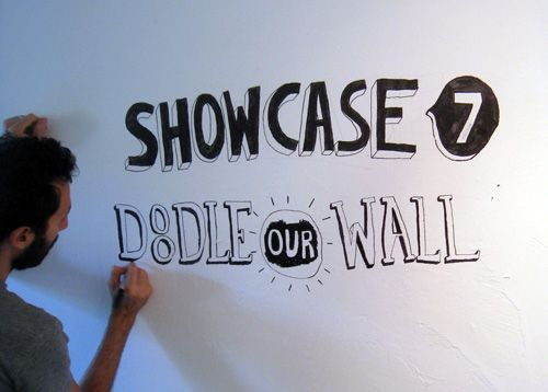 Showcase #7: Doodle Our Wall | Doodlers Anonymous