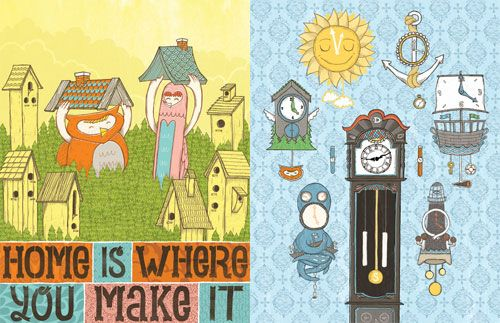 Home Is Where You Make It | Doodlers Anonymous