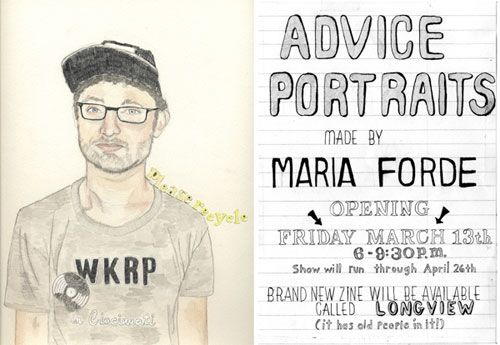 Advice Portraits | Doodlers Anonymous