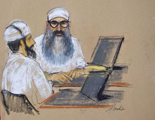 Gitmo Trial Sketches | Doodlers Anonymous