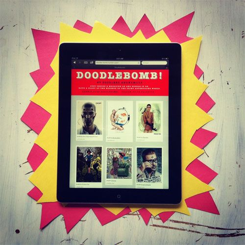 Doodlebomb! Has A New Home | Doodlers Anonymous