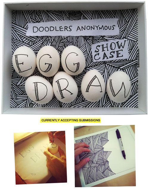 Showcase #14: Egg Draw | Doodlers Anonymous