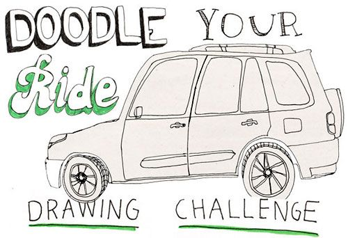 Showcase #17: Doodle Your Ride | Doodlers Anonymous