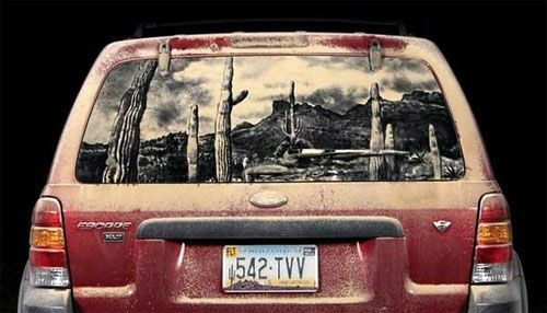 Dirty Car Art | Doodlers Anonymous