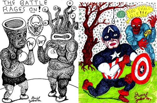 The Devil and Daniel Johnston | Doodlers Anonymous