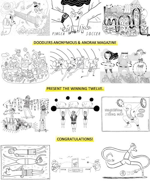 And the winners are… | Doodlers Anonymous