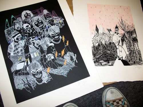 Two Prints, Two Winners | Doodlers Anonymous