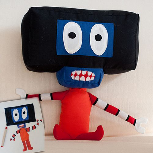 The Living Doodle: Turning Kid Drawings into Plush Toys | Doodlers Anonymous