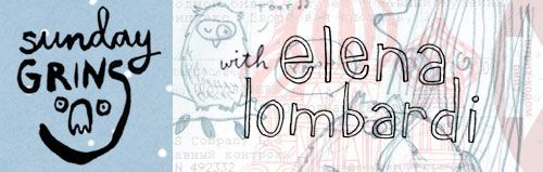Sunday Grins! with Elena Lombardi | Doodlers Anonymous