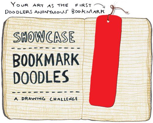 Showcase #15: Bookmark Doodles | Doodlers Anonymous
