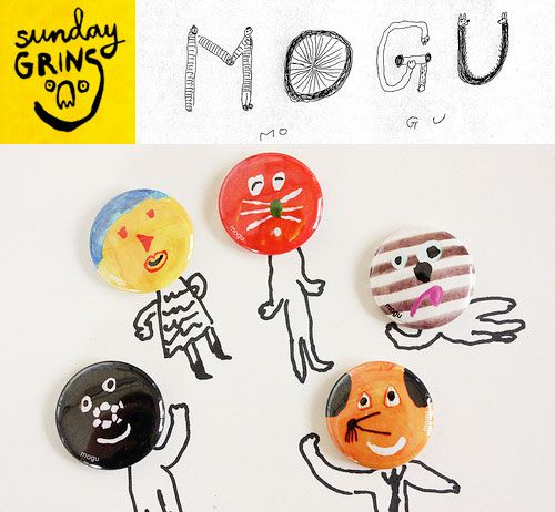 Sunday Grins! with Mogu Takahashi | Doodlers Anonymous