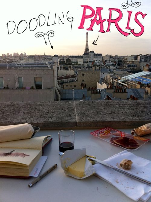8 Days in Paris | Doodlers Anonymous