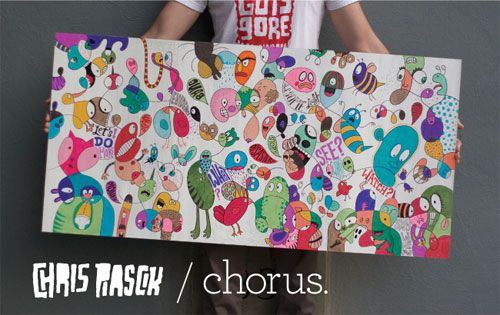 Chris Piascik at Chorus Gallery | Doodlers Anonymous