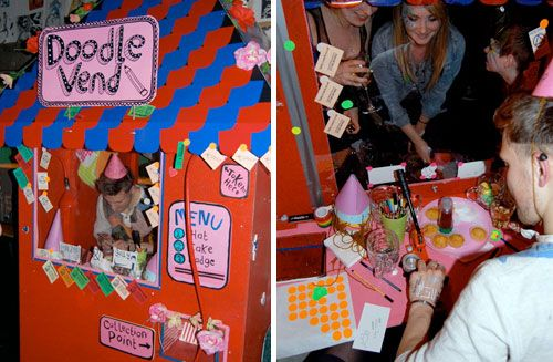 The Doodle Vending Machine | Doodlers Anonymous