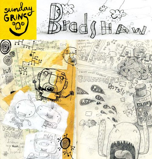 Sunday Grins! with Jim Bradshaw | Doodlers Anonymous