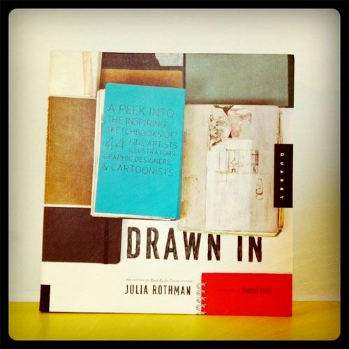 Giveaway: Drawn In by Julia Rothman | Doodlers Anonymous