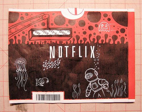 Netflix Envelope Doodles | Doodlers Anonymous