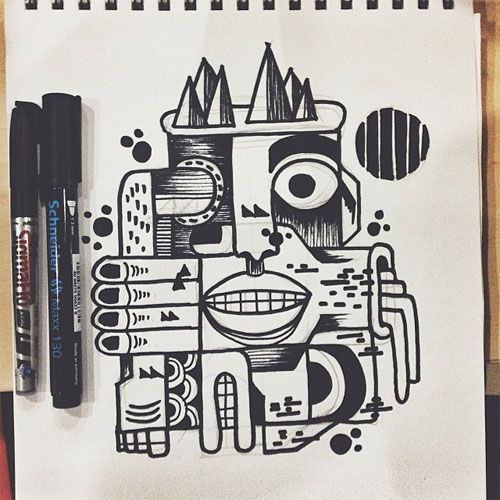 Coloring Book Interview Series, #3: Paulo Correa | Doodlers Anonymous