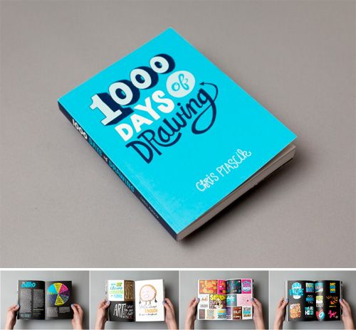Giveaway: 1000 Days of Drawing | Doodlers Anonymous