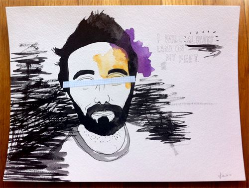 Giveaway: A Hand-Drawn Portrait of You by Jamie Tao | Doodlers Anonymous